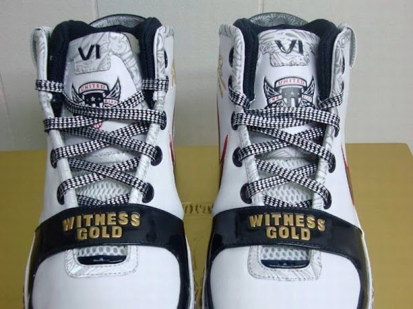 King James8217 Nike Zoom LeBron VI Witness Gold More Pics
