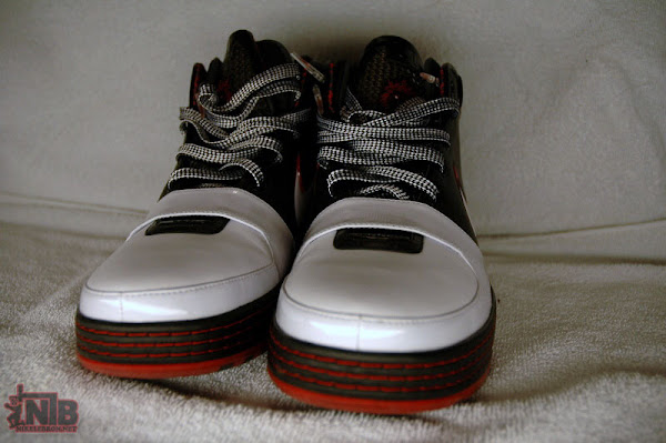 WhiteBlackVarsity Red LeBron VI Sample Showcase