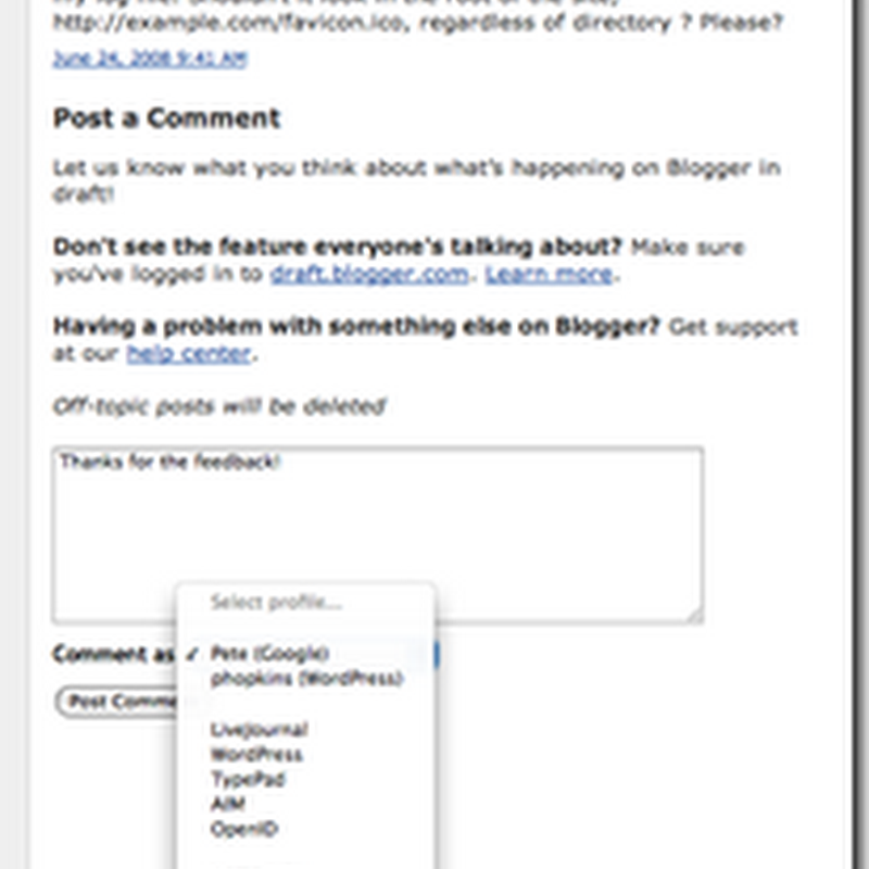 Blogger adds exciting new features