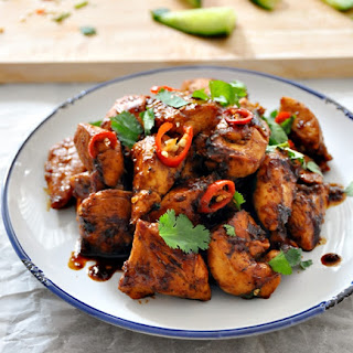 Thai-Style Garlic Chicken