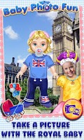 Screenshot of Royal Baby Photo Fun Dress Up