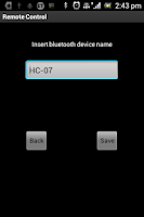 Screenshot of Remote Control