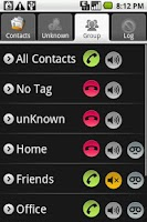 Screenshot of Call Blocker X - Advance call