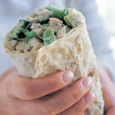 Tarragon Chicken & Avocado Wrap