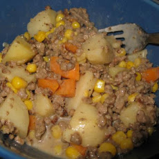 Crock Pot Hamburger 'n Potato Casserole