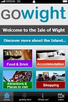 Screenshot of The GoWight App