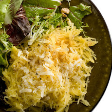 Roasted Spaghetti Squash with Parmigiano-Reggiano Recipe