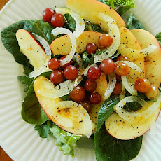 Greens and Fruit Salad ~ Raw Vegan