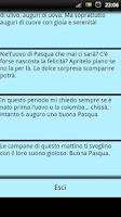 Screenshot of SMS Pasqua