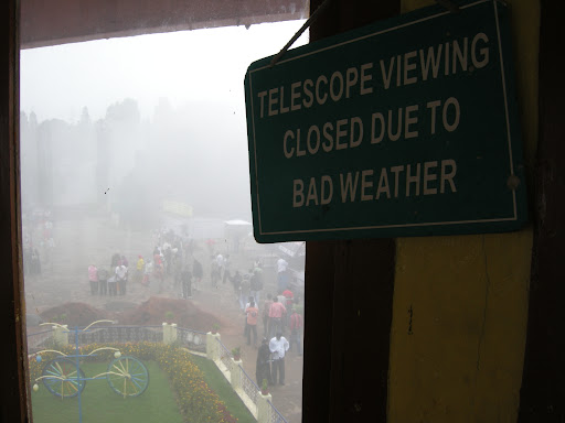Nilgiri telescope closed Ooty