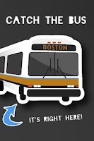 Screenshot of CatchTheBus - MBTA