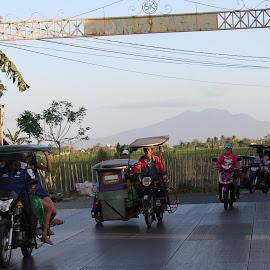 Tricycle Car  by Florante Lamando - Transportation Motorcycles ( motorcycles )