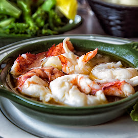 Lobster Saute by John Hoey - Food & Drink Plated Food ( macro, new england, maine, lobster saute, seafood, food, york, restaurant )
