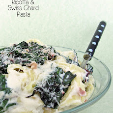 Ricotta and Swiss Chard Pasta