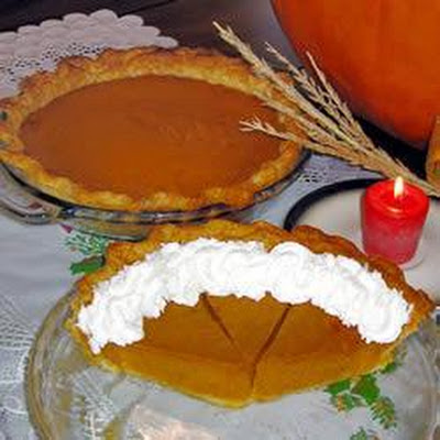 Creamy Spiced Pumpkin Pie