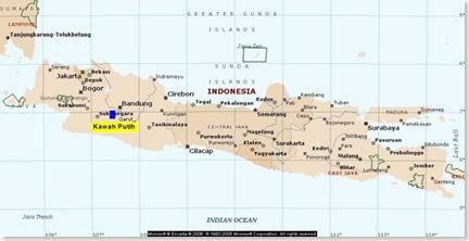 Peta Kawah Putih