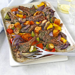 Roast Lamb With Roasted Vegetables Recipes