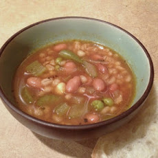 Vegeterian Bean & Barley Soup