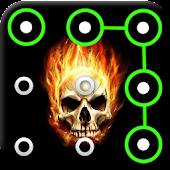 App Skull Pattern Screen Lock APK for Kindle