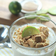 Key Lime Pie Panna Cotta