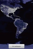 Screenshot of Night Earth Live Wallpaper