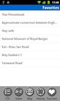 Screenshot of Bangkok, Thailand Guide & Map