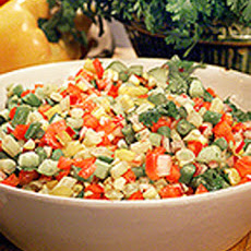 Alexis's Chopped Vegetable Salad