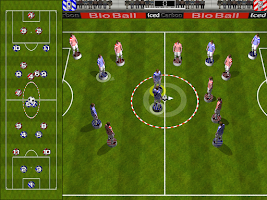 Screenshot of Blo-Ball Soccer Lite