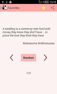 Wedding Quotes - screenshot