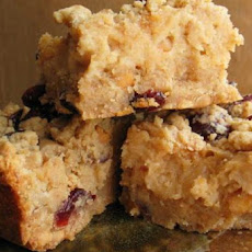 Peanut Butter and Cranberry Bars