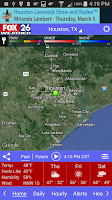 Screenshot of Houston Weather - FOX 26 Radar