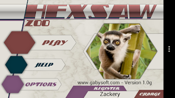 Screenshot of HexSaw - Zoo