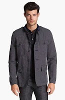 John Varvatos Star USA 'Officer' Jacket