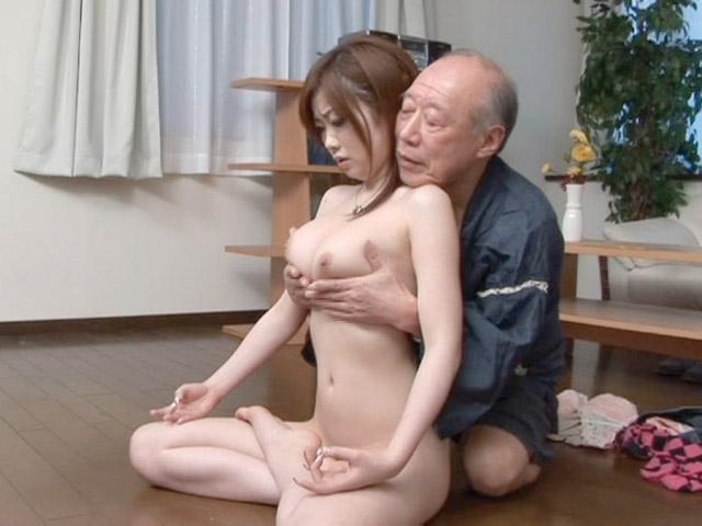 Japanese old man porn