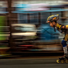 Rollerskating by Agus Sudharnoko - Sports & Fitness Skateboarding
