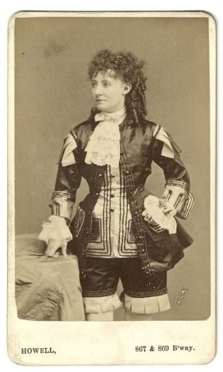 Lydia Thompson, ca. 1869