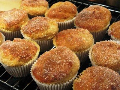 Cinammon Donut Cupcakes