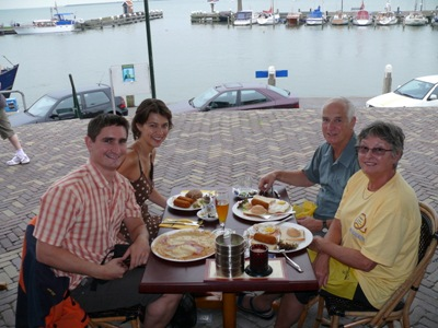 Mum & Dad in Volendam
