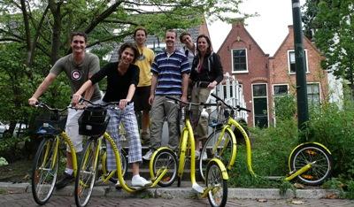 Antony, Reate, Maarten, Marcel, Jorien and Marja Steppen in Delft