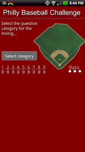Phillies Baseball Challenge