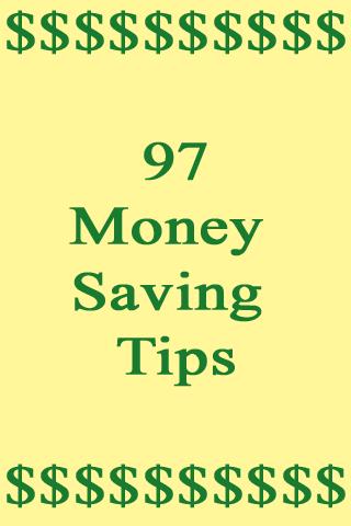Money Saving Tips - Premium