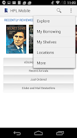 Screenshot of HPL Mobile