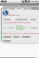 Screenshot of Disaster Manager-Premium