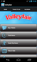 Screenshot of Valleyfair Mobile App