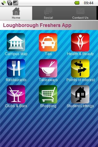 Loughborough Freshers App
