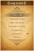 Screenshot of Hajj Guide