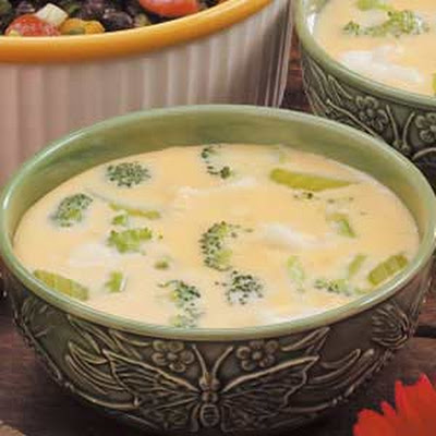 Cheesy Floret Soup