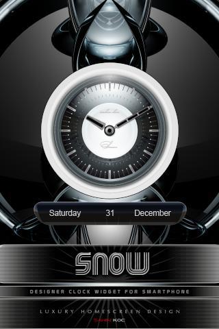雪時鐘部件