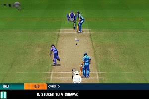 Screenshot of India vs England 2013