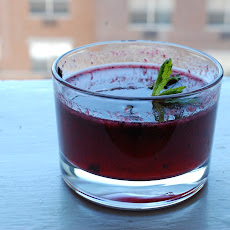 Blackberry-Mint Cocktail